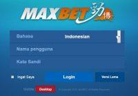Cara Daftar Maxbet Online Mobile Indonesia